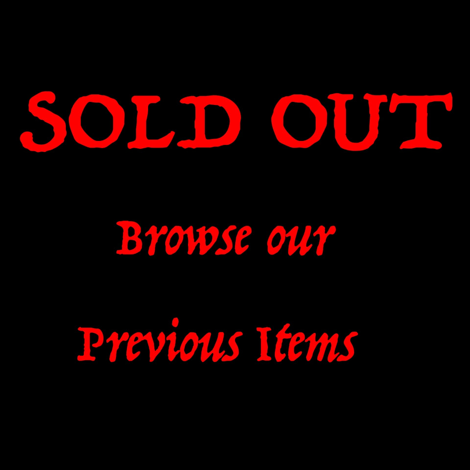 Z - Sold Out Slasher Items