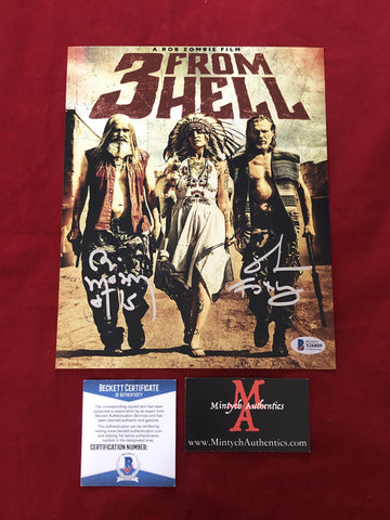 3FH_002 - 8x10 Photo Autographed By Bill Moseley & Richard Brake