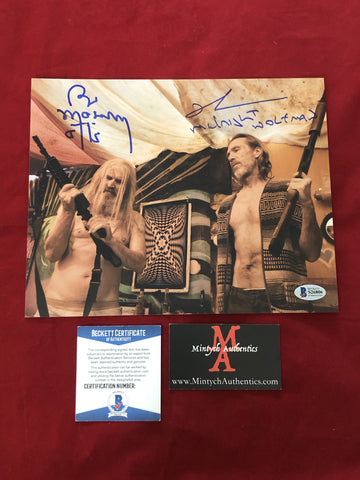 3FH_004 - 8x10 Photo Autographed By Bill Moseley & Richard Brake