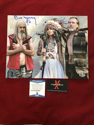 3FH_010 - 11x14 Photo Autographed By Bill Moseley & Richard Brake