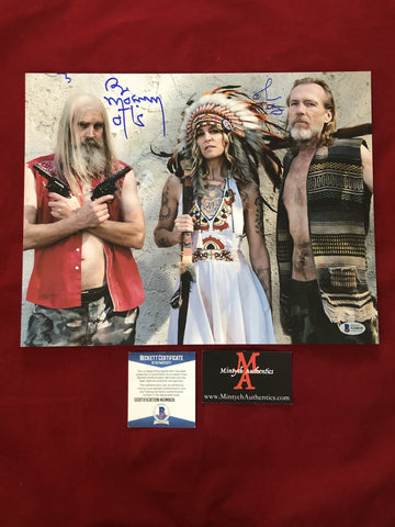 3FH_011 - 11x14 Photo Autographed By Bill Moseley & Richard Brake