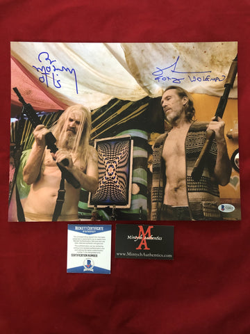 3FH_014 - 11x14 Photo Autographed By Bill Moseley & Richard Brake