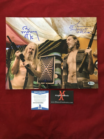 3FH_015 - 11x14 Photo Autographed By Bill Moseley & Richard Brake