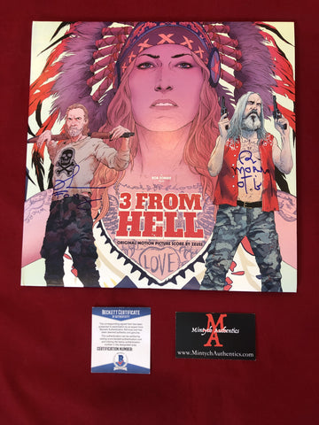 3FH_025 - 3 From Hell Vinyl Record Autographed By Bill Moseley & Richard Brake