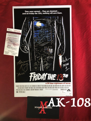 AK_108 - 11x17 Photo w/Ari Lehman!
