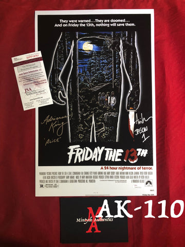 AK_110 - 11x17 Photo w/Ari Lehman!