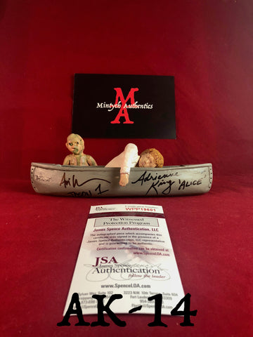 AK_14 - Limited Edition Canoe 2/25 Autographed By Adrienne King & Ari Lehman