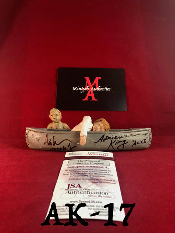 AK_17 - Limited Edition Canoe 5/25 Autographed By Adrienne King & Ari Lehman