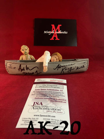 AK_20 - Limited Edition Canoe 8/25 Autographed By Adrienne King & Ari Lehman