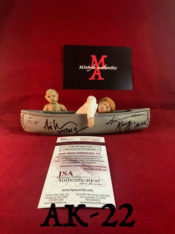 AK_22 - Limited Edition Canoe 10/25 Autographed By Adrienne King & Ari Lehman