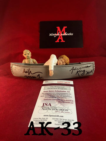 AK_33 - Limited Edition Canoe 21/25 Autographed By Adrienne King & Ari Lehman