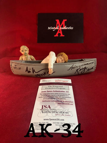 AK_34 - Limited Edition Canoe 22/25 Autographed By Adrienne King & Ari Lehman