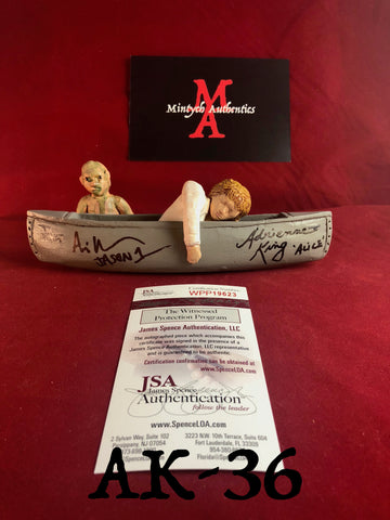 AK_36 - Limited Edition Canoe 24/25 Autographed By Adrienne King & Ari Lehman