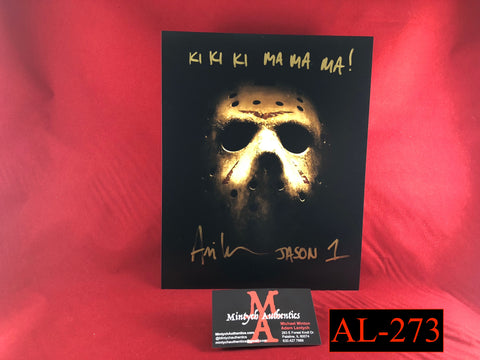 AL_273 - 8x10 Photo Autographed By Ari Lehman