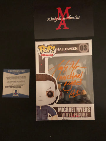 AM_31- Michael Myers Funko Pop! Autographed By Tony Moran