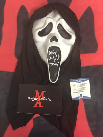 ARQUETTE_019 - Ghostface Mask Autographed By David Arquette
