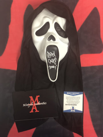 ARQUETTE_020 - Ghostface Mask Autographed By David Arquette