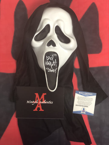ARQUETTE_021 - Ghostface Mask Autographed By David Arquette