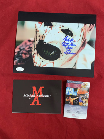 ART_136 - 8x10 Photo Autographed By Mike Giannelli