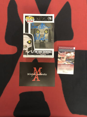 BA_180 - The Nun (Demonic) 776 Funko Pop! Autographed By Bonnie Aarons