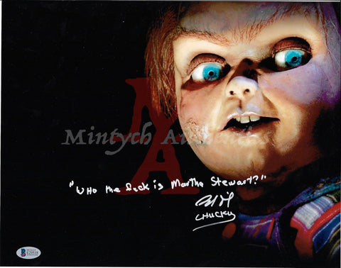 BD_31 - 11x14 Photo Autographed By Brad Dourif