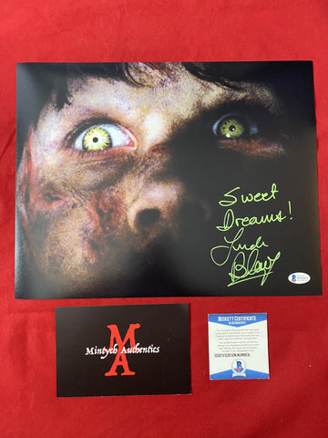 BLAIR_082 - 11x14 Photo Autographed By Linda Blair