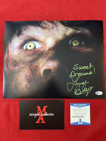 BLAIR_083 - 11x14 Photo Autographed By Linda Blair