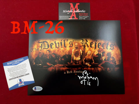 BM_26 - 8x10 Photo Autographed by Bill Moseley