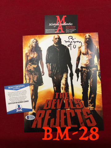 BM_28 - 8x10 Photo Autographed by Bill Moseley
