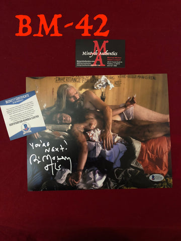 BM_42 - 8x10 Photo Autographed by Bill Moseley