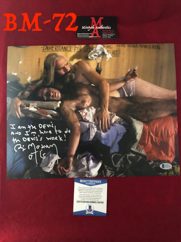 BM_72 - 11x14 Photo Autographed by Bill Moseley