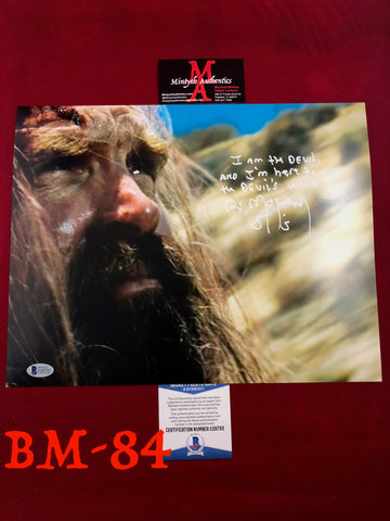 BM_84 - 11x14 Photo Autographed by Bill Moseley