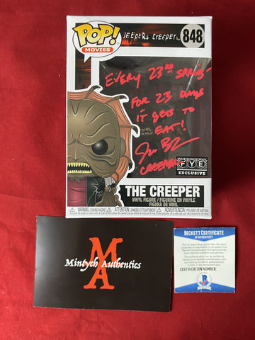 BRECK_125 - The Creeper 848 - FYE Exclusive Funko Pop! Autographed By Jonathan Breck
