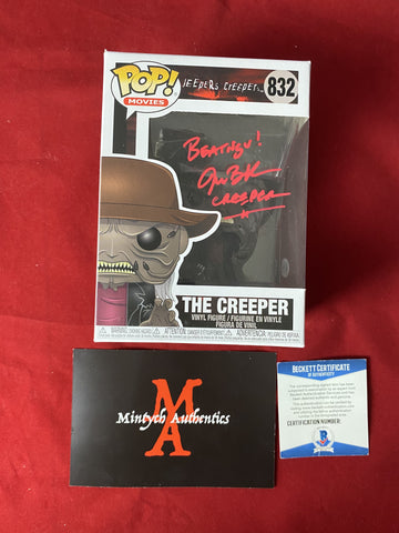 BRECK_131 - The Creeper 832 Funko Pop! Autographed By Jonathan Breck