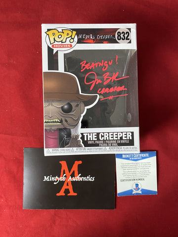 BRECK_132 - The Creeper 832 Funko Pop! Autographed By Jonathan Breck