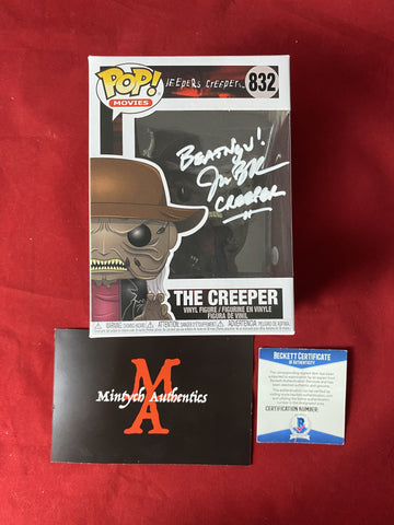 BRECK_138 - The Creeper 832 Funko Pop! Autographed By Jonathan Breck