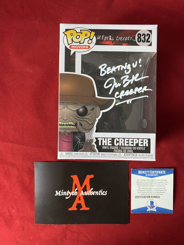 BRECK_139 - The Creeper 832 Funko Pop! Autographed By Jonathan Breck