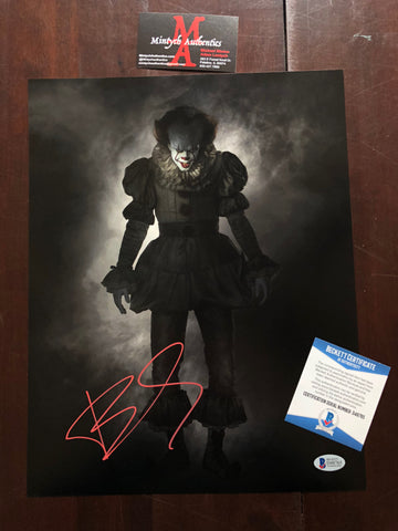 BS_04 - BILL SKARSGARD SIGNED 11x14
