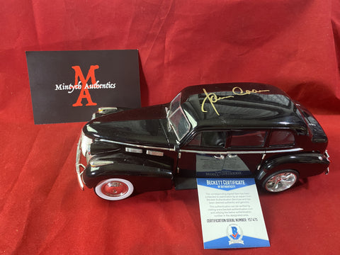 "CAAN_323 - 1:18 Scale Jada ""The Godfather Car"" Diecast Car Autographed By James Caan"