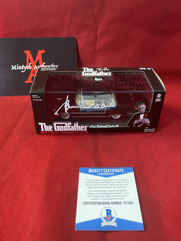"CAAN_338 - 1:43 Scale Greenlight ""The Godfather 1955 Cadillac Fleetwood Series 60"" Limited Edition Diecast Car Autographed By James Caan"