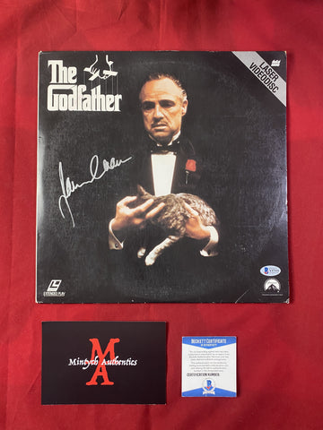 CAAN_359 - The Godfather Laser Disc Autographed By James Caan