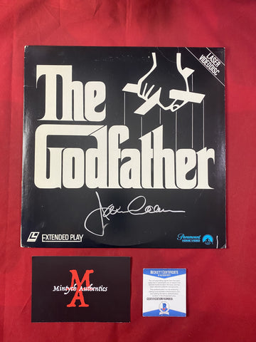 CAAN_361 - The Godfather Laser Disc Autographed By James Caan
