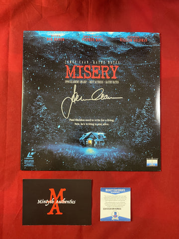 CAAN_362 - Misery Laser Disc Autographed By James Caan