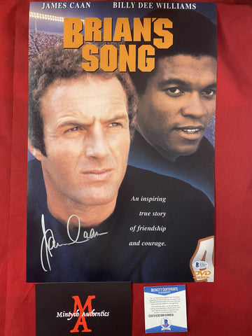 CAAN_739 - 12x18 Photo Autographed By James Caan