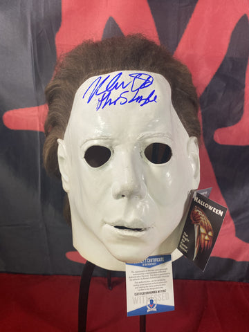 CASTLE_001 - Michael Myers Trick Or Treat Studios Mask Autographed By Nick Castle