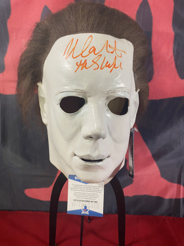 CASTLE_007 - Michael Myers Trick Or Treat Studios Mask Autographed By Nick Castle