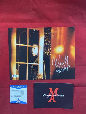 CASTLE_144 - 8x10 Photo Autographed By Nick Castle