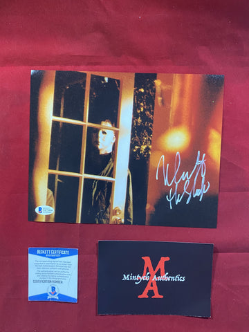 CASTLE_145 - 8x10 Photo Autographed By Nick Castle