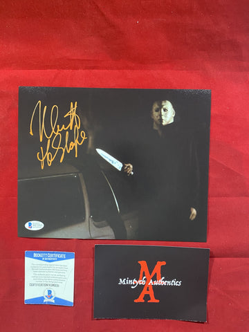 CASTLE_169 - 8x10 Photo Autographed By Nick Castle