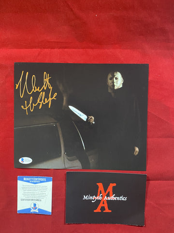 CASTLE_170 - 8x10 Photo Autographed By Nick Castle